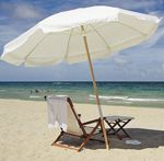 зонт на пляже