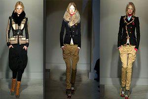 брюки галифе с зимней одеждой