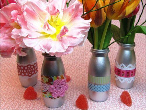Милые вазочки Фото