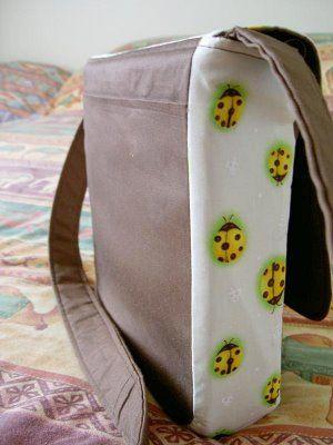 Вид сумки сбоку Картинка