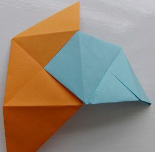 заворачиваем треугольники фото