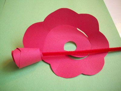 формирование будущей розы фото