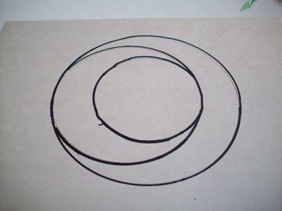 Рисуем третий круг во втором фото