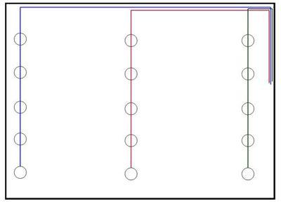 схема рисунок расположения колец