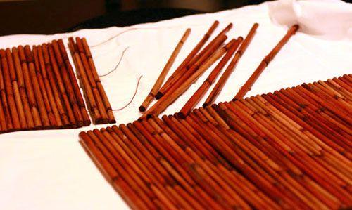 Разбираем бамбуковую салфетку Фото