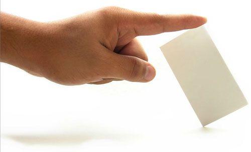 Делаем визитки своими руками Фото