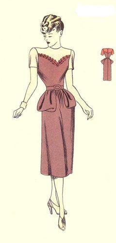 Модель делового платья рисунок