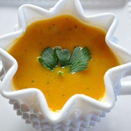 Протертый овощной суп фото