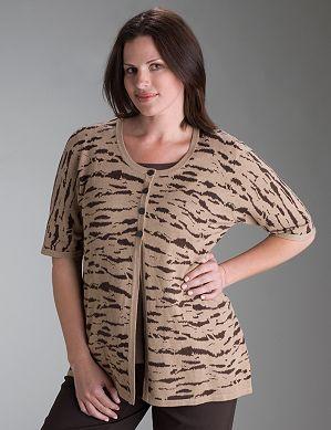 Блузочка с мотивом горизонтального короеда Фото