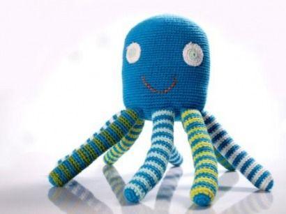 Самодельный осьминог Фото