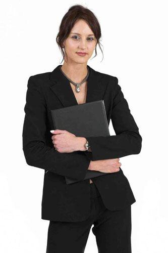Классический деловой костюм Фото