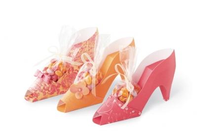 Туфли из бумаги Фото