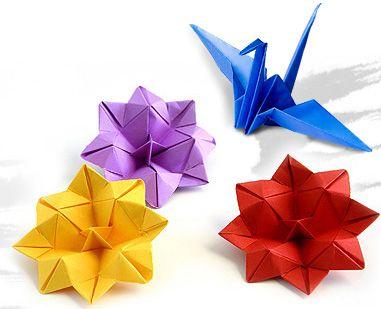 Поделки оригами Фото