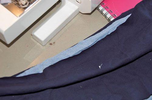 Подготовка каркаса для резинки Фото