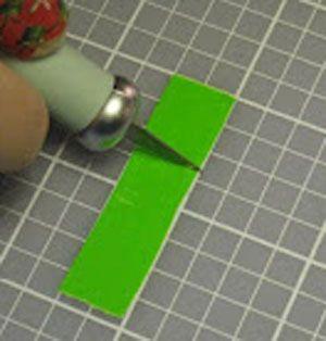 Квадратики на украшение бутона фото