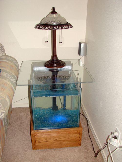 Готовый аквариум фото