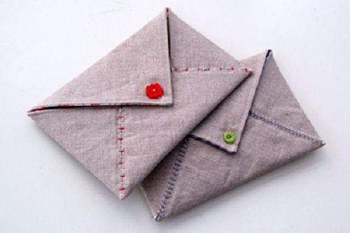 застегиваем конверт фото