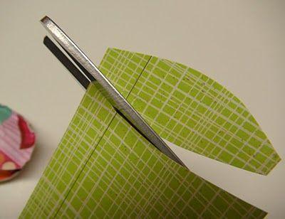 Вырезаем листья фото