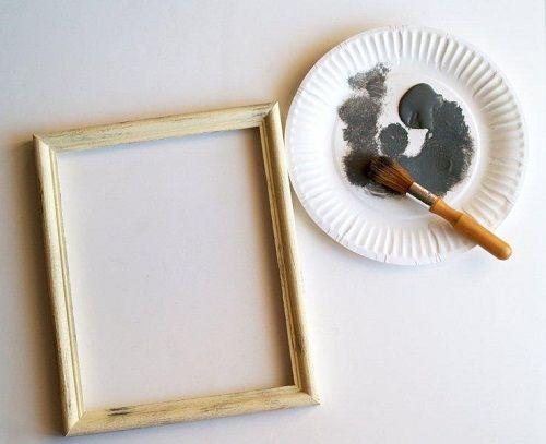 наносим краску фото