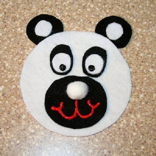 мордашка панды из диска фото