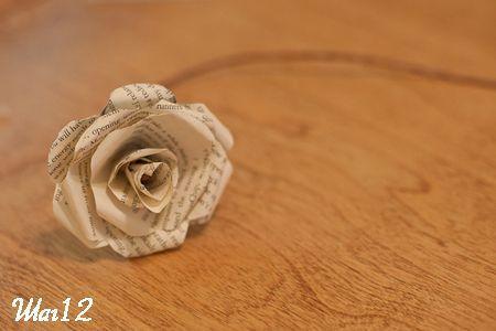 Делаем розу фото