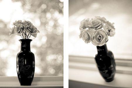Розы в вазе фото