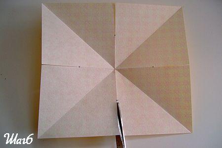 Разрезаем квадрат фото