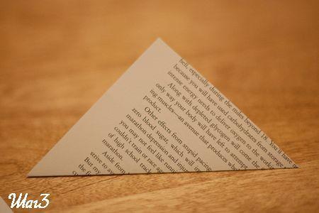 Сгибаем квадраты из бумаги фото