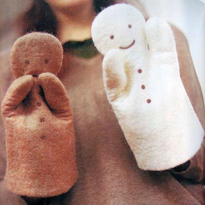 Кукольный театр - персонажи их фетра Фото
