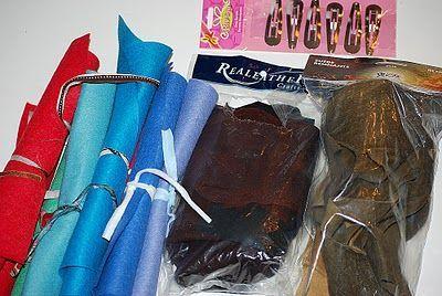 Материалы для изготовления кажаных цветов Фото