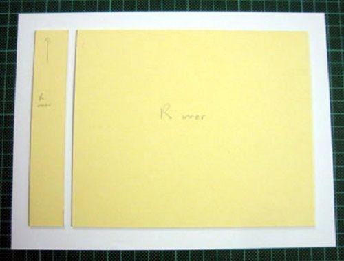 приклеиваем картон к бумаге фото