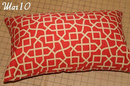 Подушка готова фото