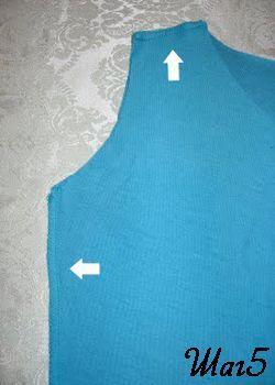 основа футболки фото