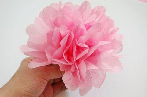 готовый цветок фото