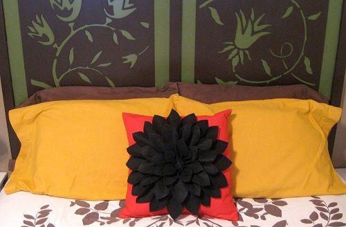 готовая подушка фото