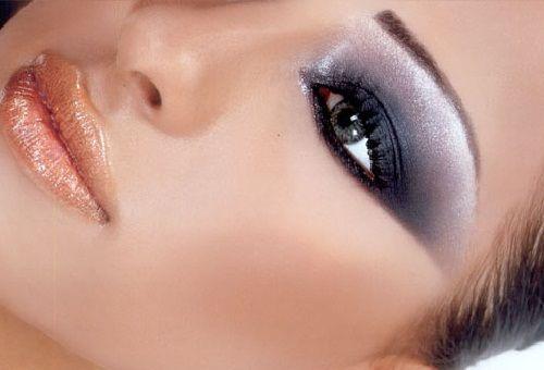 пример арабского макияжа  1 фото