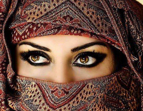 пример арабского макияжа 2 фото