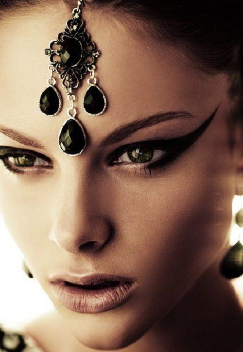 пример арабского макияжа 3 фото