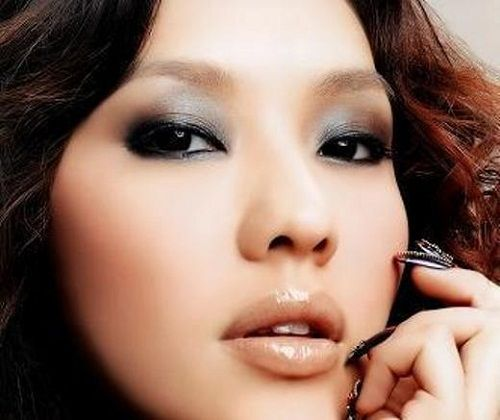 пример макияжа для азиатских глаз 1 фото