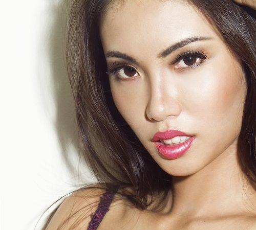 пример макияжа для азиатских глаз 3 фото