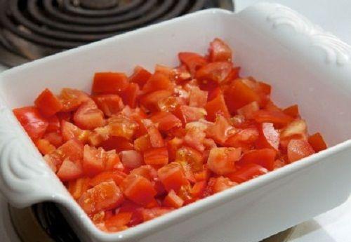 выкладываем помидоры фото