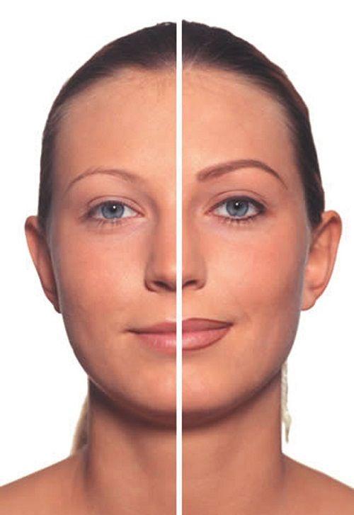 пример макияжа фото