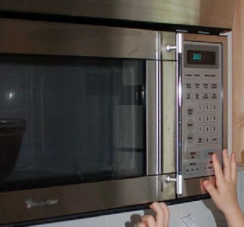 ставим в микроволновую печь фото