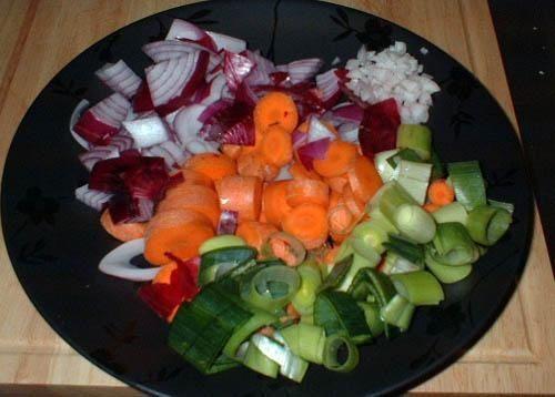 готовим овощи фото