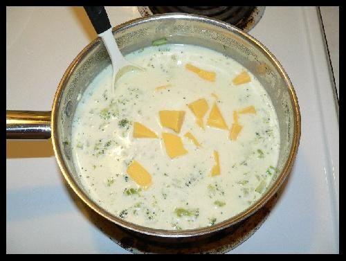 добавляем плавленный сыр фото