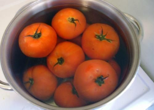 подготовка помидоров фото