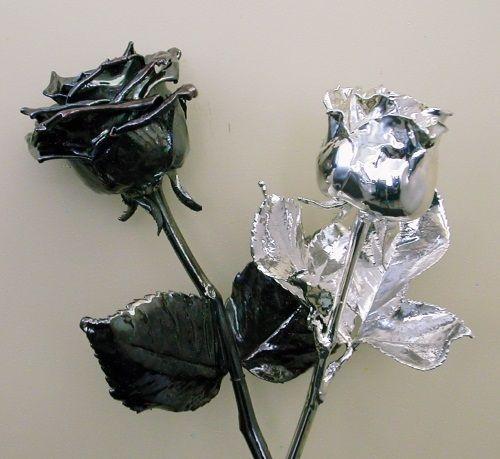 цветы из фольги фото