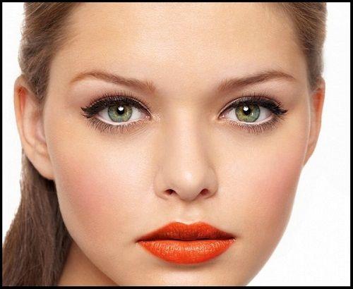 макияж для серо-зеленых глаз фото