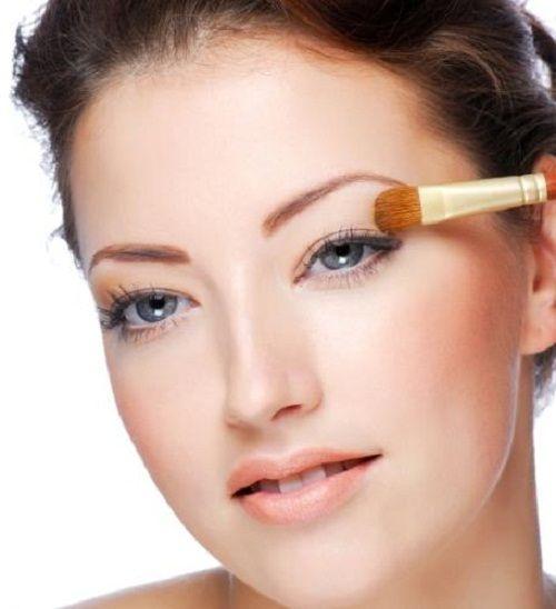 наносим макияж на глаза фото