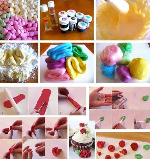 этапы изготовления роз фото